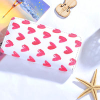Women Wallet Modern Leather Strawberry Watermelon Flamingos 6 Colors 03 Wallet