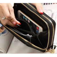 Women Wallet Pu Leather Card Holder Long Style 7 Colors Wallet