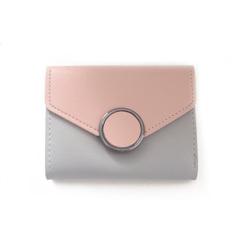 Women Wallet Vintage Top Quality Leather Wallet In 4 Colors Pink Wallet