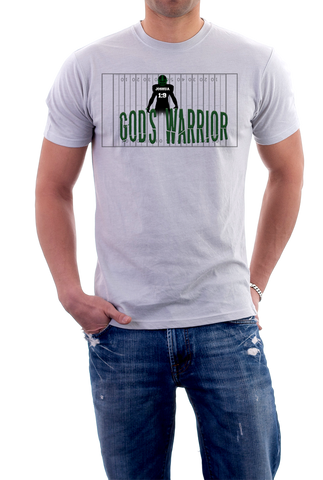 God's Warrior Football Shirt,  - Peachy Brass