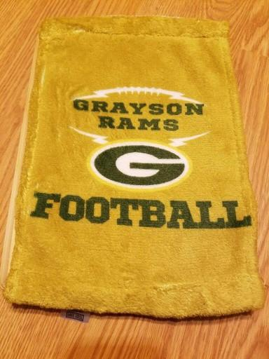 Grayson Team Spirit Towels - Peachy Brass