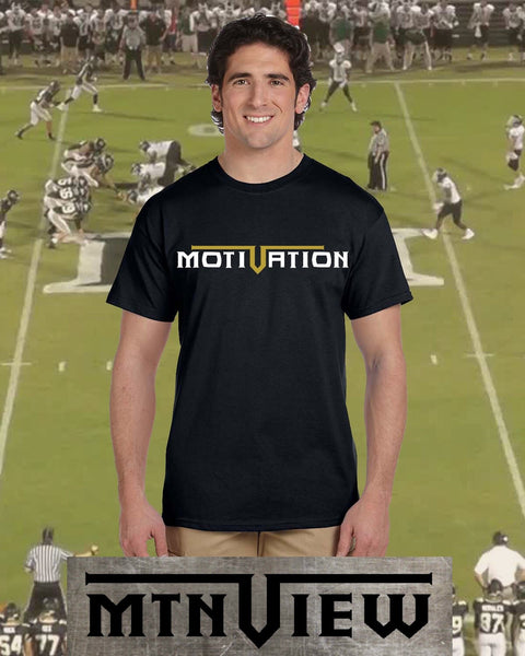 MTN View Motivation Shirt - Peachy Brass