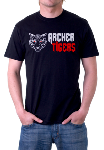 Archer Tigers Shirts (Black), Shirts - Peachy Brass