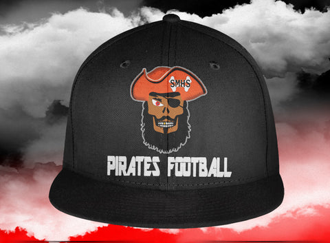 Stone Mountain Pirates Fitted Hat, Hats - Peachy Brass