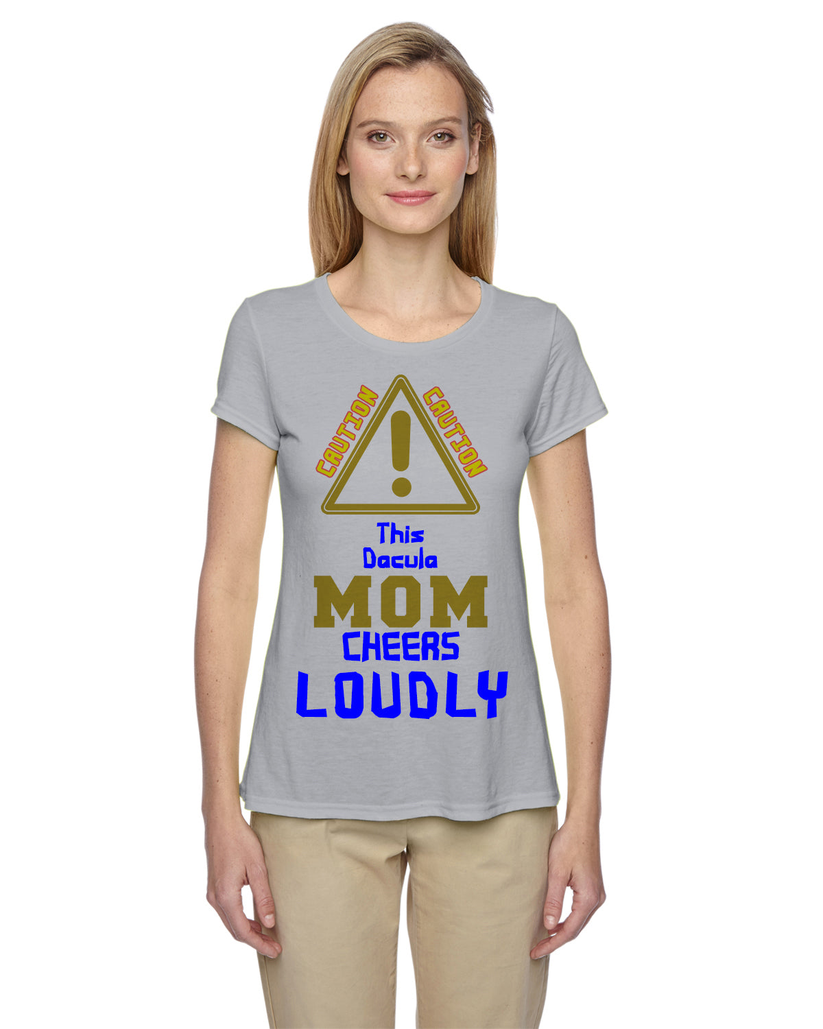 Dacula Loud Mom Shirts - Peachy Brass