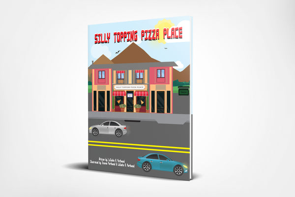 Silly Topping Pizza Place (Paperback Book), book - Peachy Brass