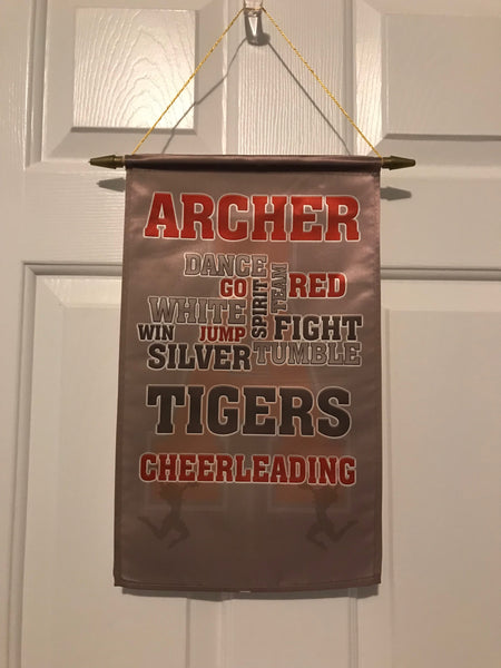 Archer Door/Wall Banner - Peachy Brass
