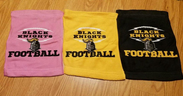 Black Knights Team Spirit Towels - Peachy Brass