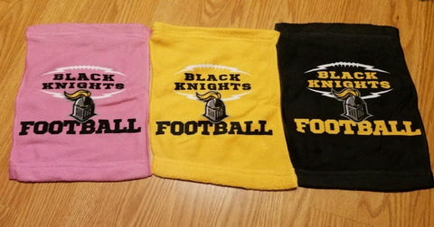 Black Knights Team Spirit Towels, Towels - Peachy Brass