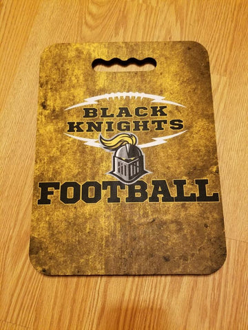 Black Knights Stadium Cushion, Seat - Peachy Brass