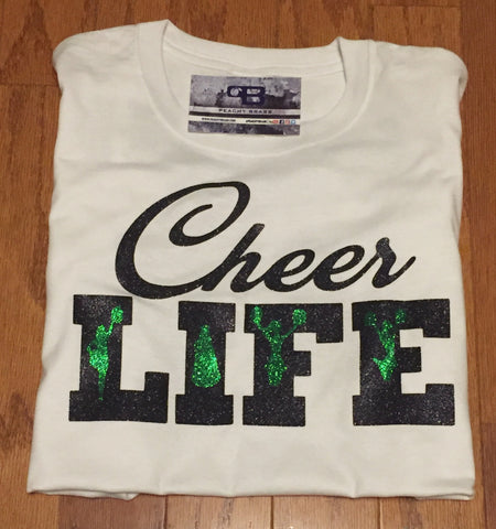 Cheer Life, Shirts - Peachy Brass