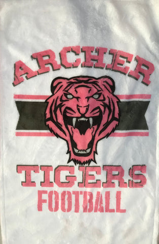 Archer Tigers Pink Out Towel, Towels - Peachy Brass