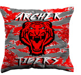 Archer Tigers Pillow, pillow - Peachy Brass