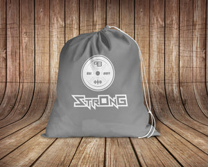 StrOnG Drawstring Bag,  - Peachy Brass