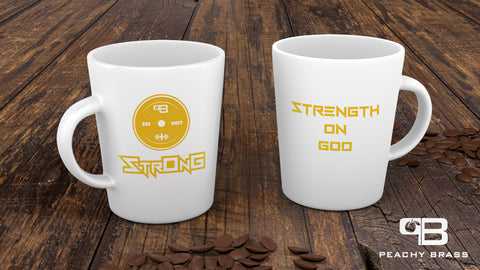 StrOnG (Strength On God) Mug,  - Peachy Brass