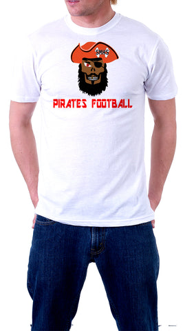 Stone Mountain Pirates Mascot (Short Sleeve Shirt), Shirts - Peachy Brass