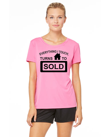 Everything I Touch Turns To Sold Shirt, shirt - Peachy Brass