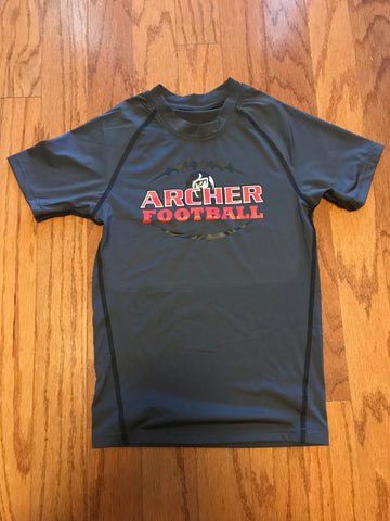 Archer Tigers Compression Shirt, Shirts - Peachy Brass