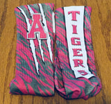 Archer Tigers Pink Socks,  - Peachy Brass