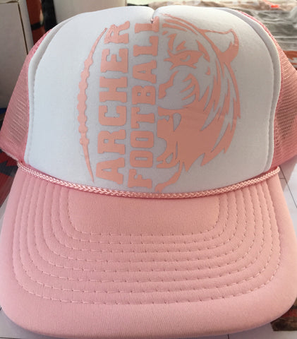 Archer Tigers Pink Hat, Hats - Peachy Brass