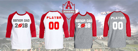 Archer Tigers Senior Shirts, Senior Shirt - Peachy Brass