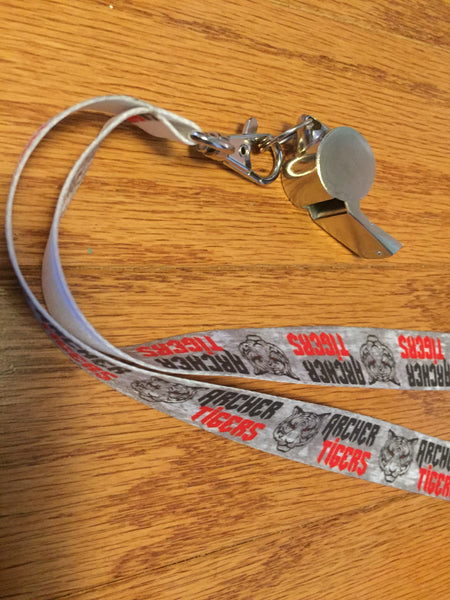 Archer Tigers Lanyard - Peachy Brass