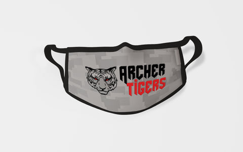 Archer Tigers Face Mask