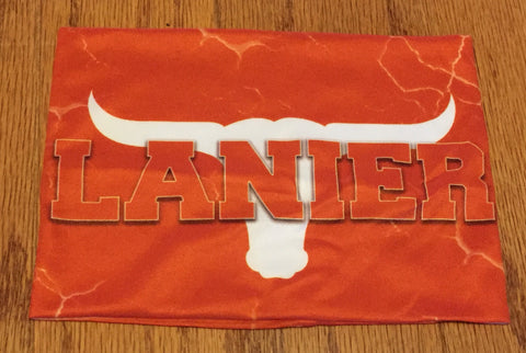 Lanier Longhorns Headband, Headband - Peachy Brass
