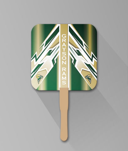 Grayson Rams Hand Fans