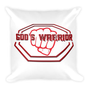 God's Warrior Pillow - Peachy Brass