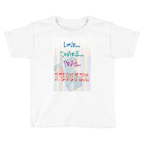 Jesus Pencils Child T-Shirt,  - Peachy Brass