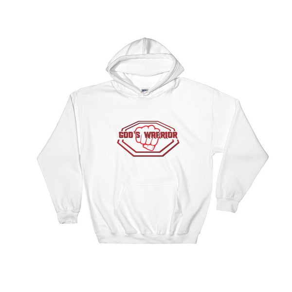 God's Warrior Hooded Sweatshirt - Peachy Brass
