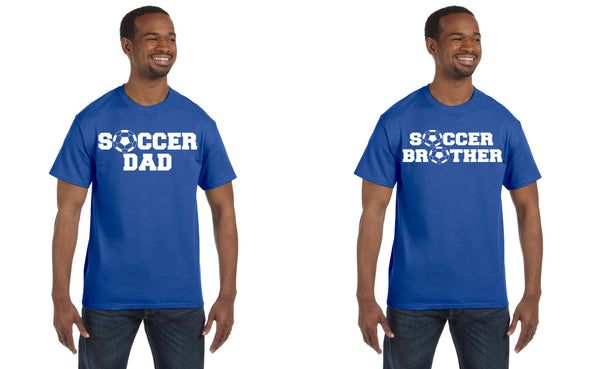 Soccer Family Shirts, Shirts - Peachy Brass