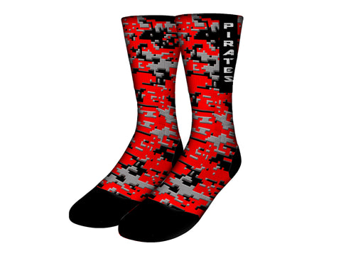 Stone Mountain Pirate Socks, Apparel - Peachy Brass