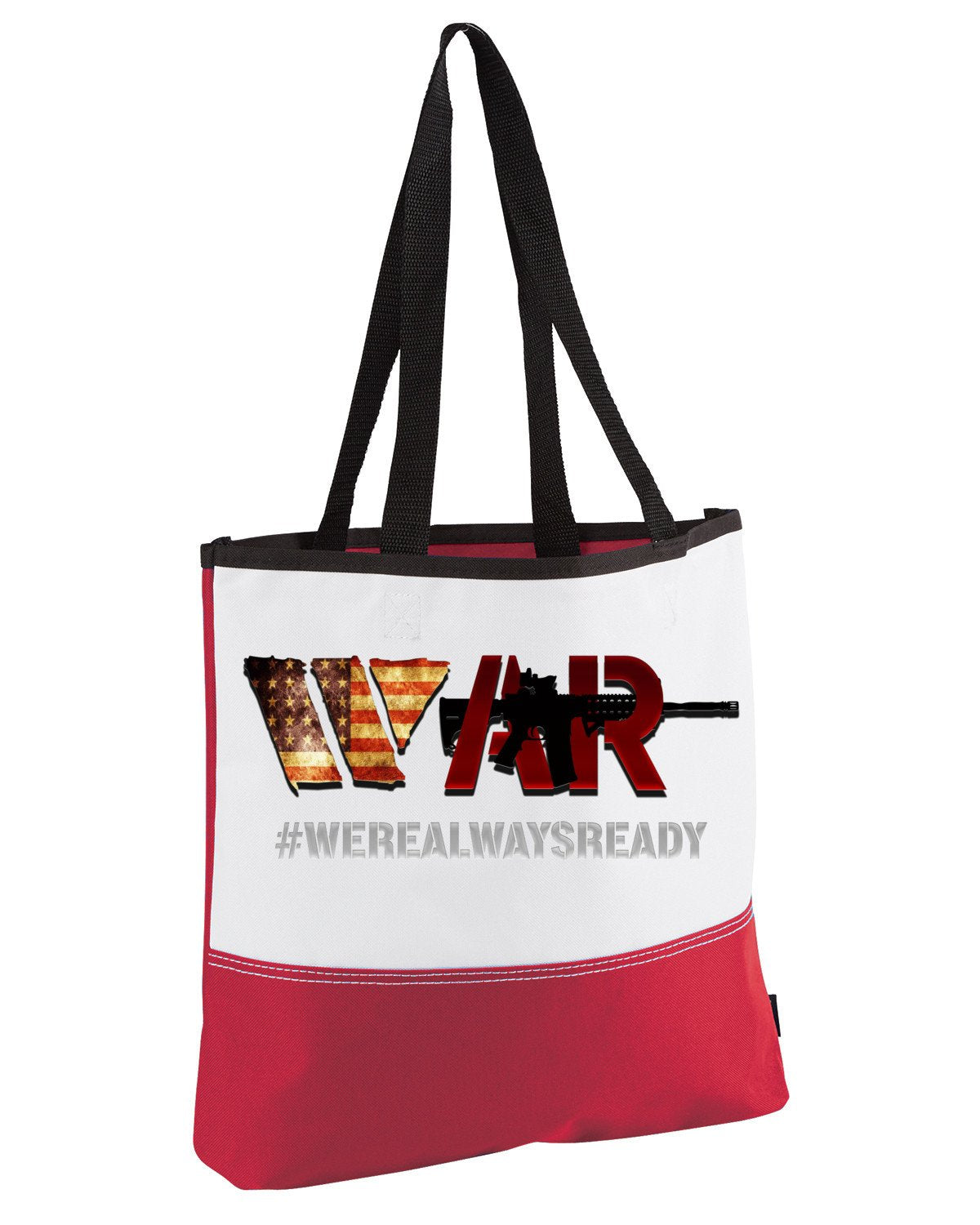 War Tote bag - Peachy Brass