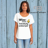 Wine The Glue Holding This 2020 Sh!tshow Together (Shirt)