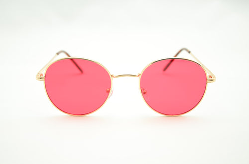 Modern Lennon Sunglasses - RED