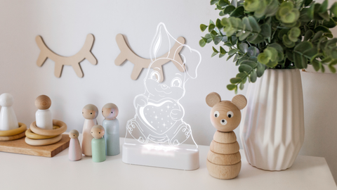 Aloka Sleepy Night Light - Bunny Rabbit