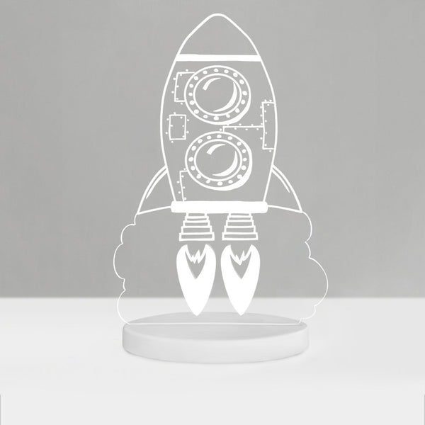 Duski Dream Night Light Rocket - Plug In