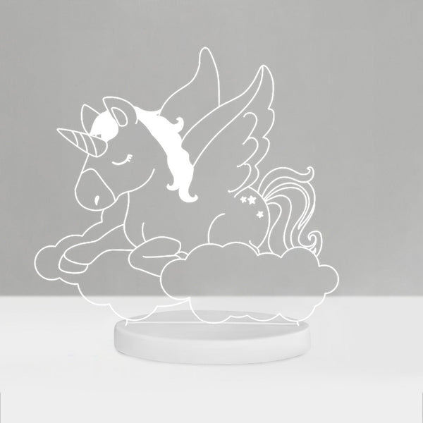 Duski Dream Night Light Unicorn - Plug in