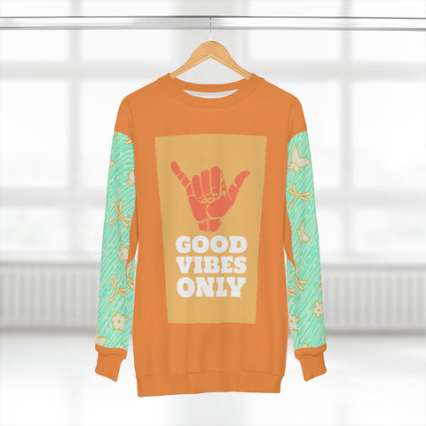 Good Vibes Only Unisex Sweatshirt - Thathoodyshop