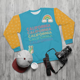 Peace Love & California Sweatshirt - Thathoodyshop