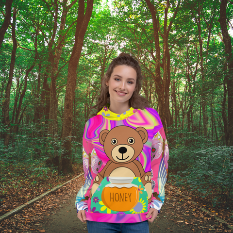 Honey Pot Bear SYLKKE Hoody - Thathoodyshop