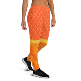 Orange Plasma Women's Joggers - Thathoodyshop