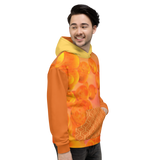 Orange Plasma Hoody - Thathoodyshop