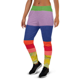 Peace Love & Rainbows Women's Joggers - Thathoodyshop