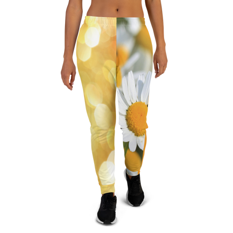 Coming Up Daisies Women's Joggers - Thathoodyshop