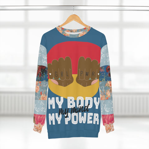 My Body My Power (AA) Unisex Sweatshirt