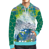 Dragonfly Unisex Pullover Hoody
