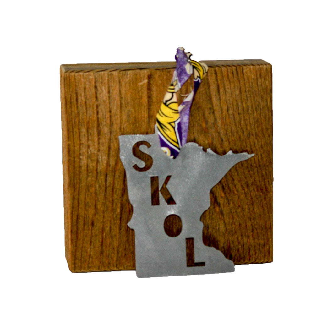 Minnesota Vikings Rustic Metal